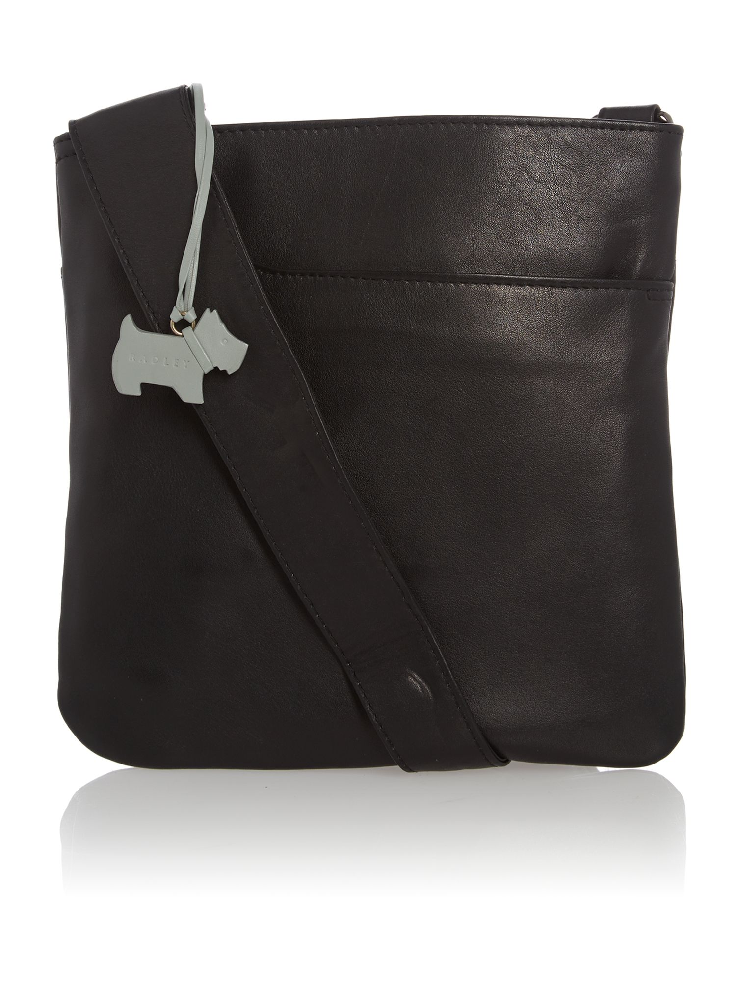 Small black cross body pocket bag