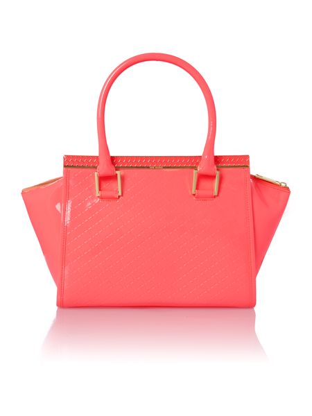 Ted Baker Medium pink quilt tote bag