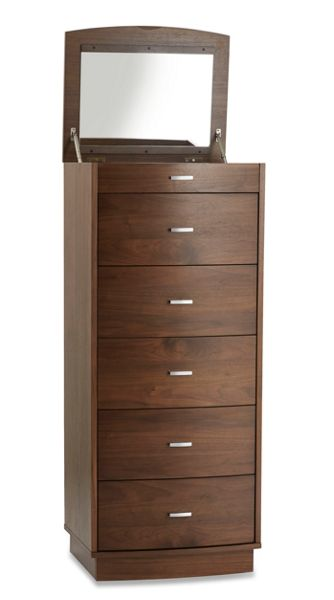 Linea Ava 5 Drawer Tall Vanity Chest