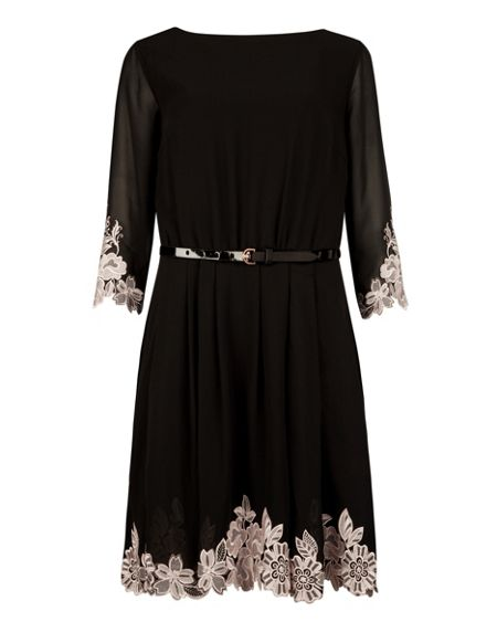 Ted Baker Feay embroidered dress