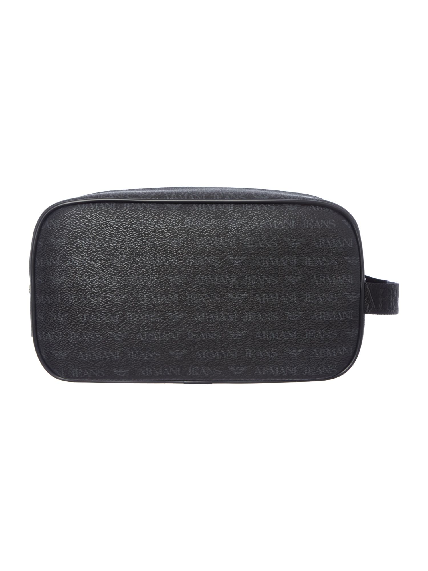All over logo washbag