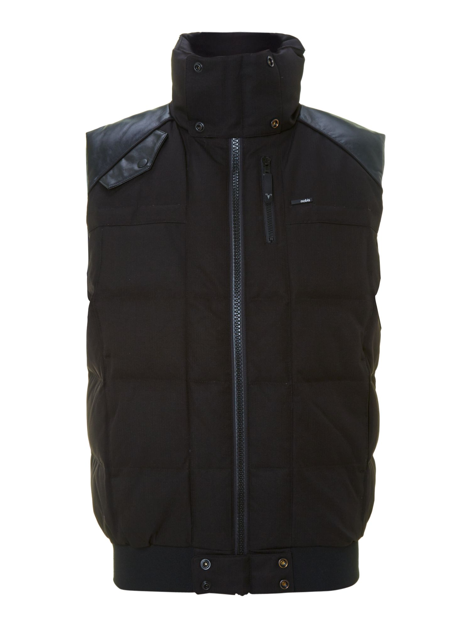 Rick bobby two pocket duck down gilet