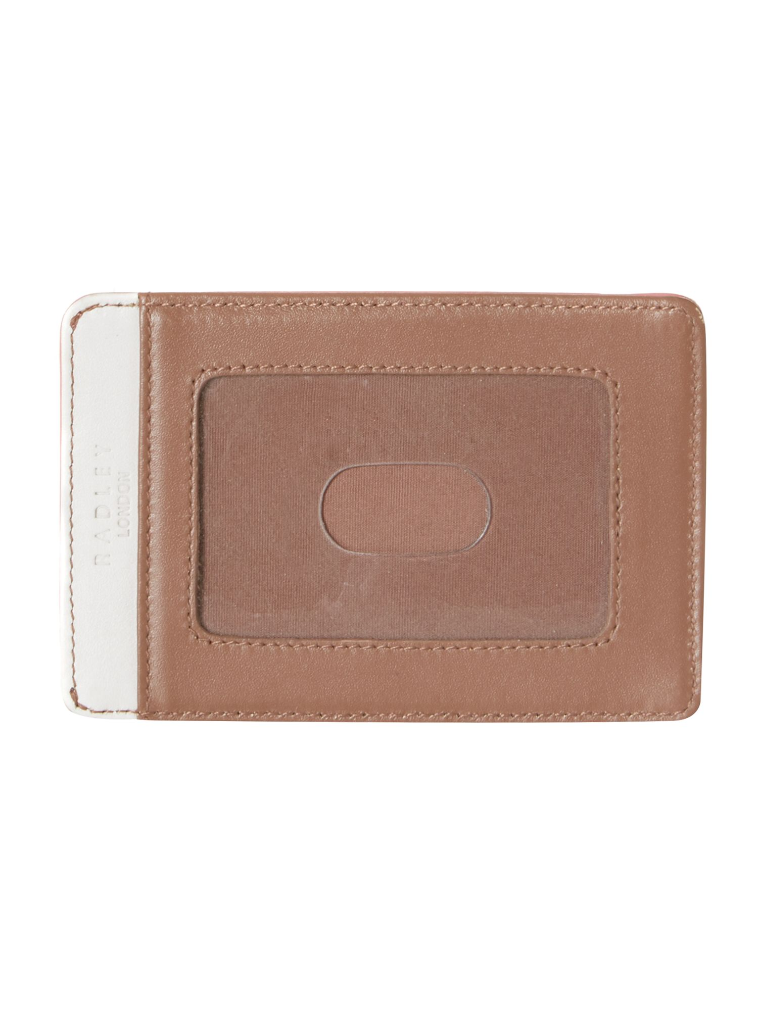 The Great Outdoors pale pink travel card holder