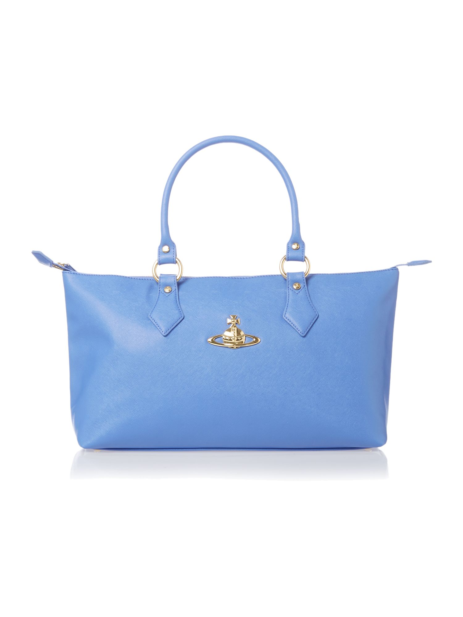 Divina medium blue tote bag