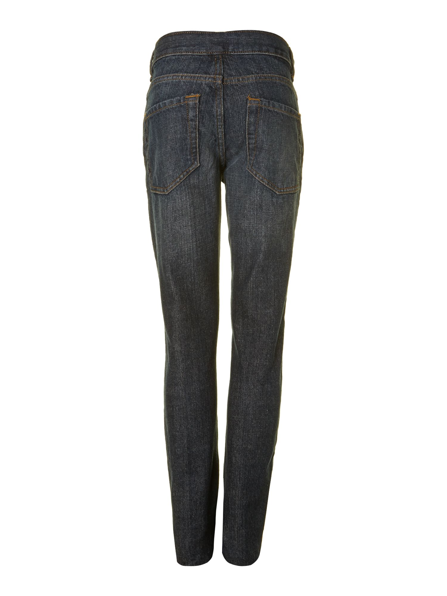 Boy`s slim fit iron knee jeans