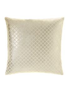 Leblon embossed cushion 45x45 in pewter
