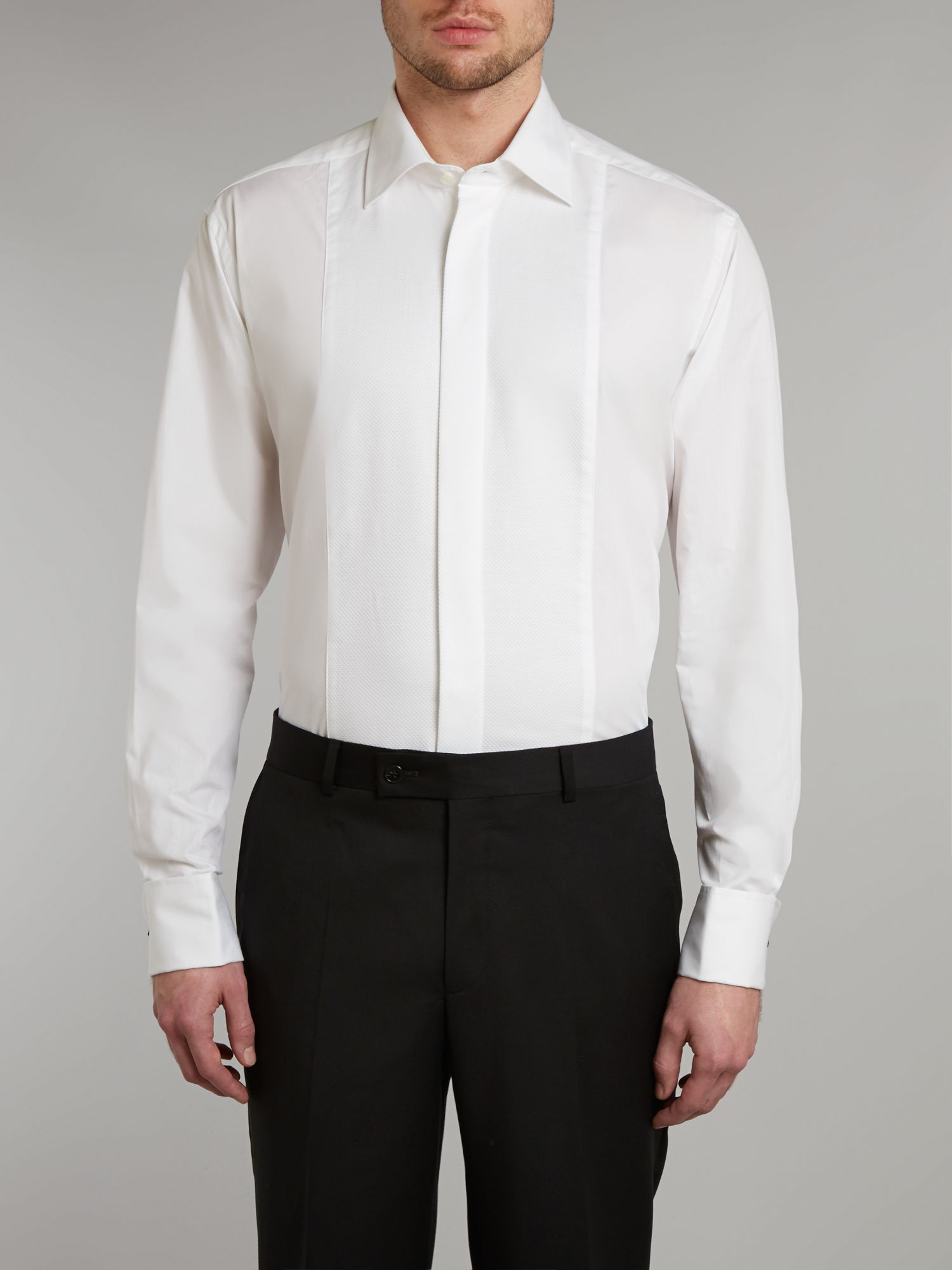 White marcella dress shirt
