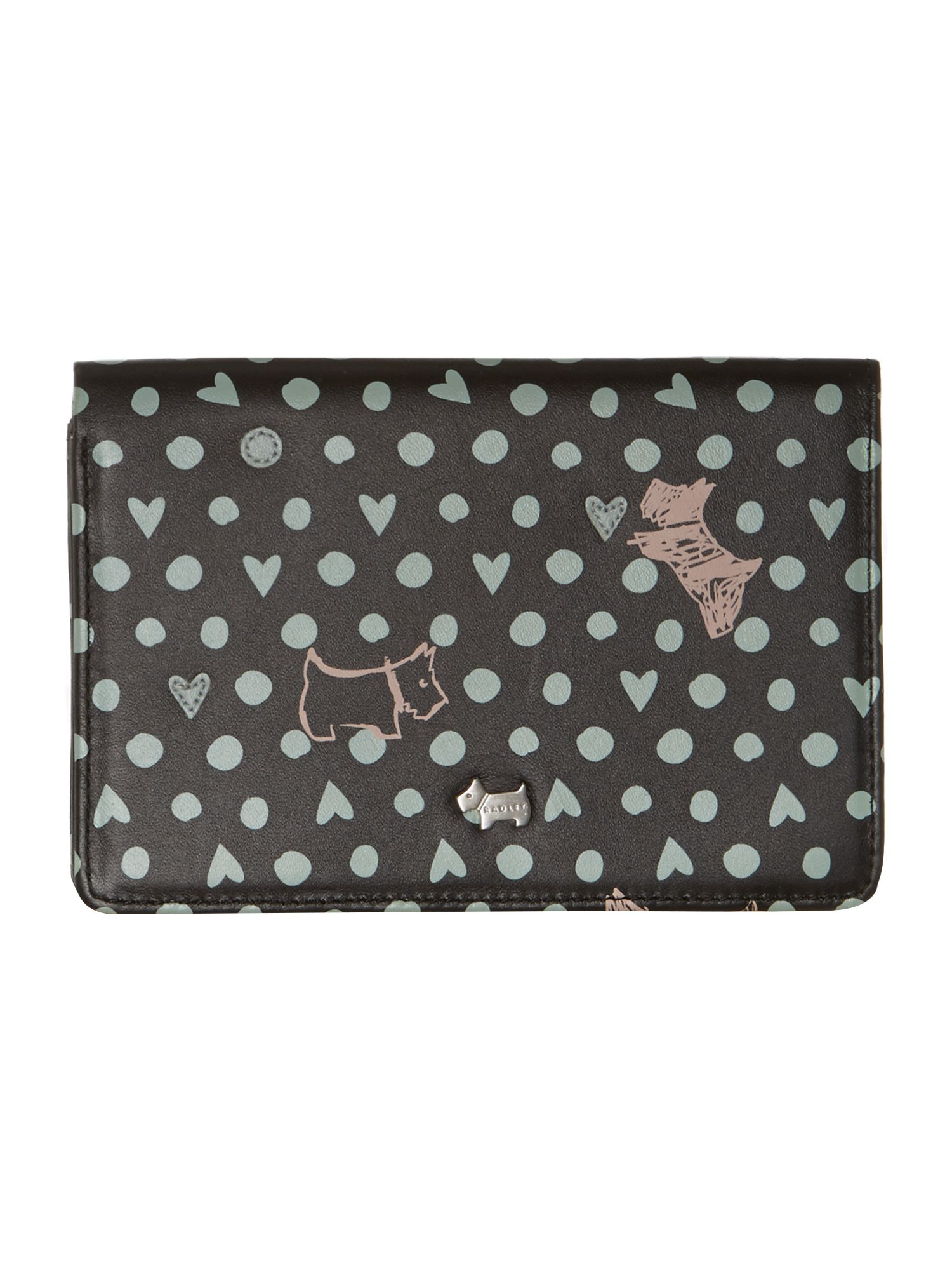 Dog n spot black medium purse