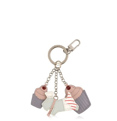 Patisserie raderlie multi coloured key ring