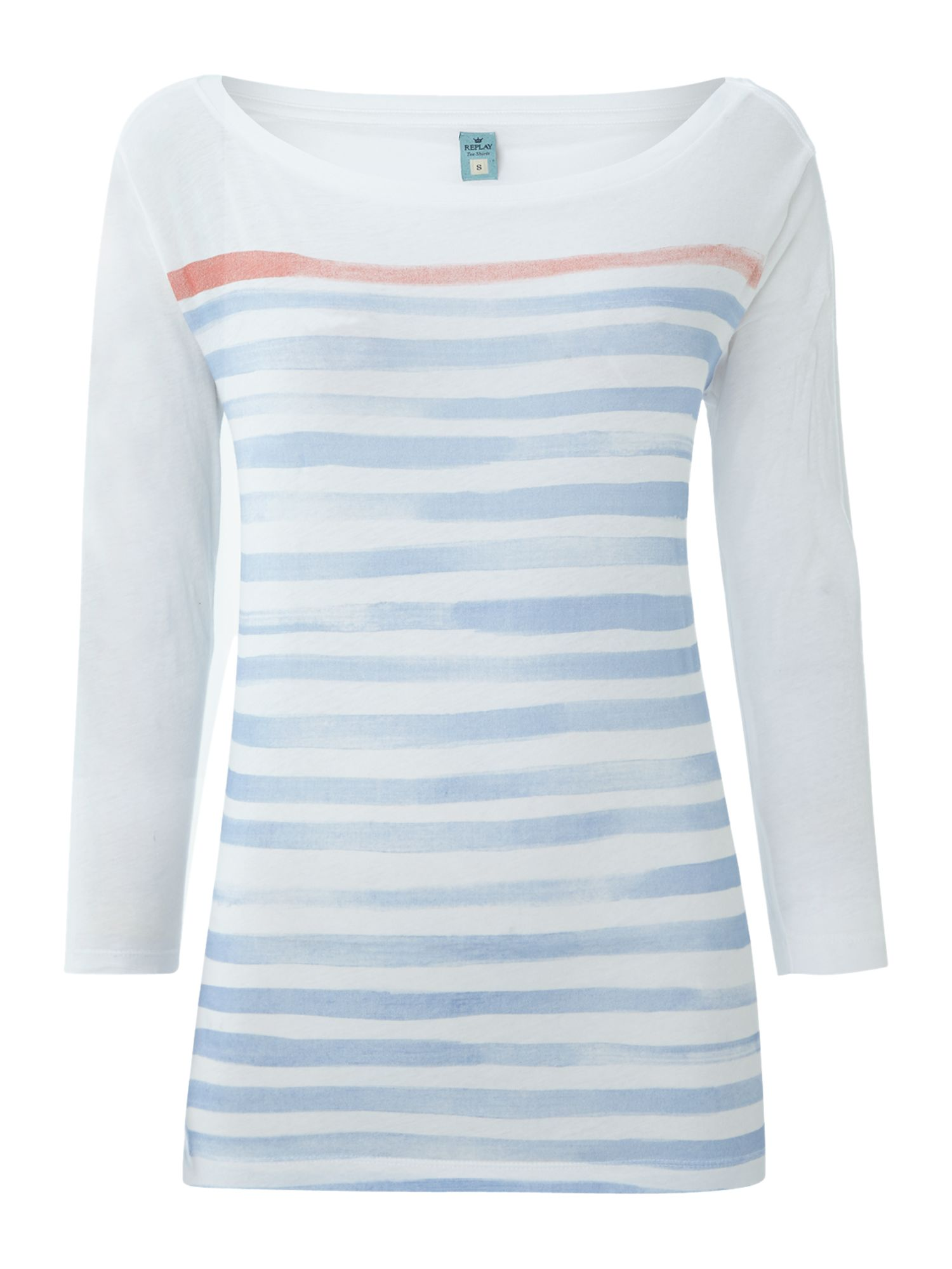 Light cotton jersey t-shirt