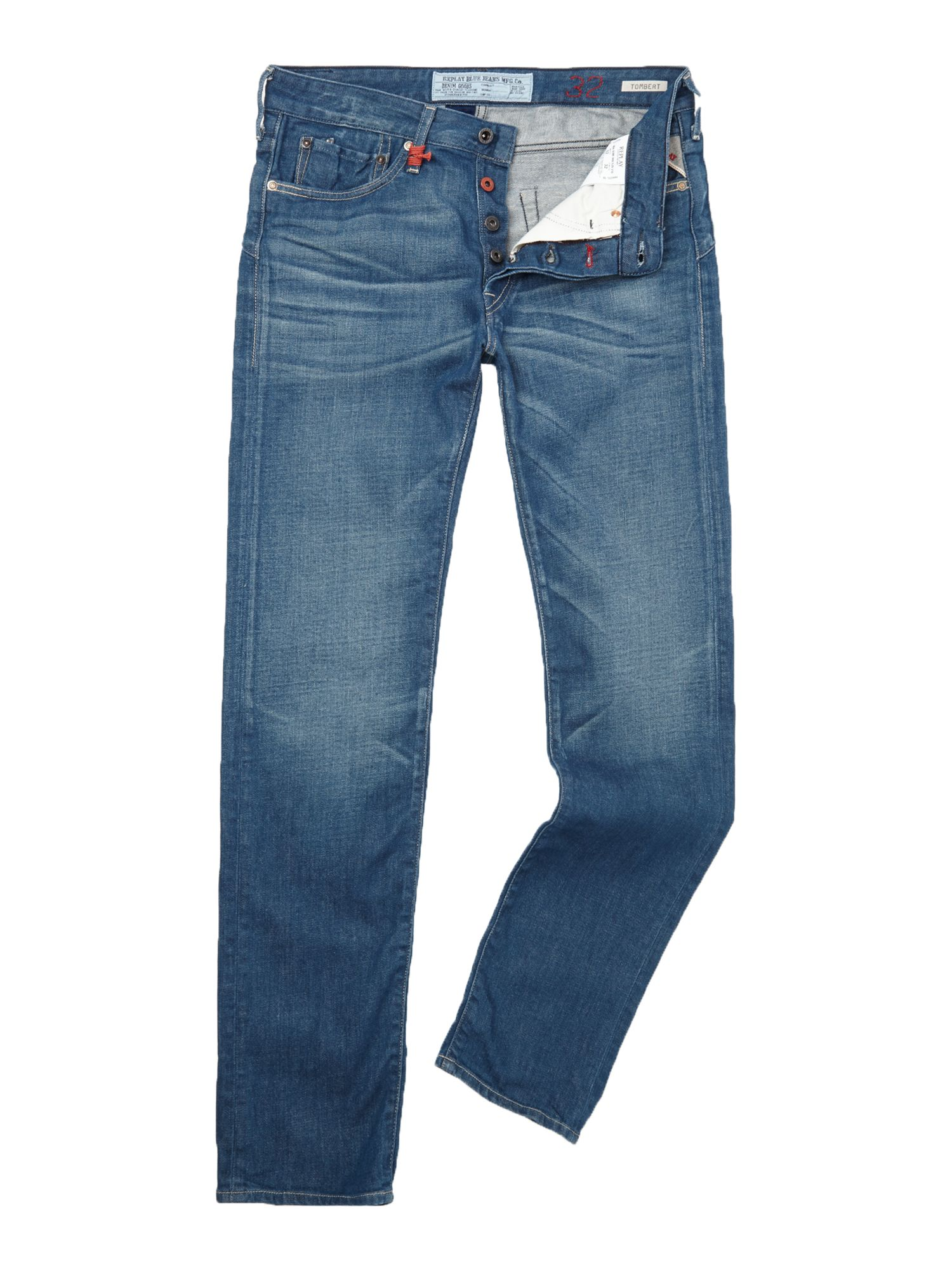 Tombert regular ergonimnic fit denim jeans