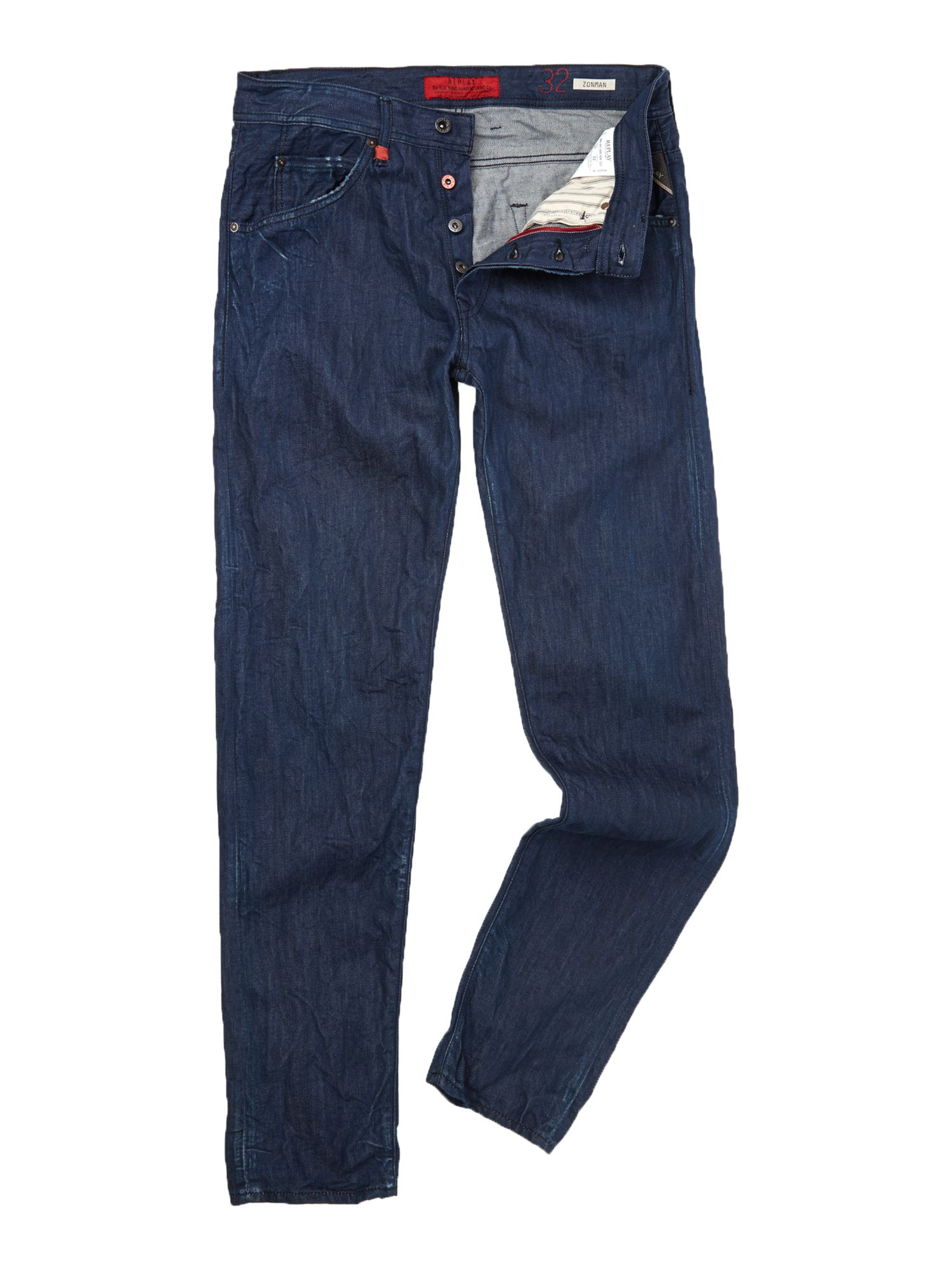 Zonman carrot fit denim jeans