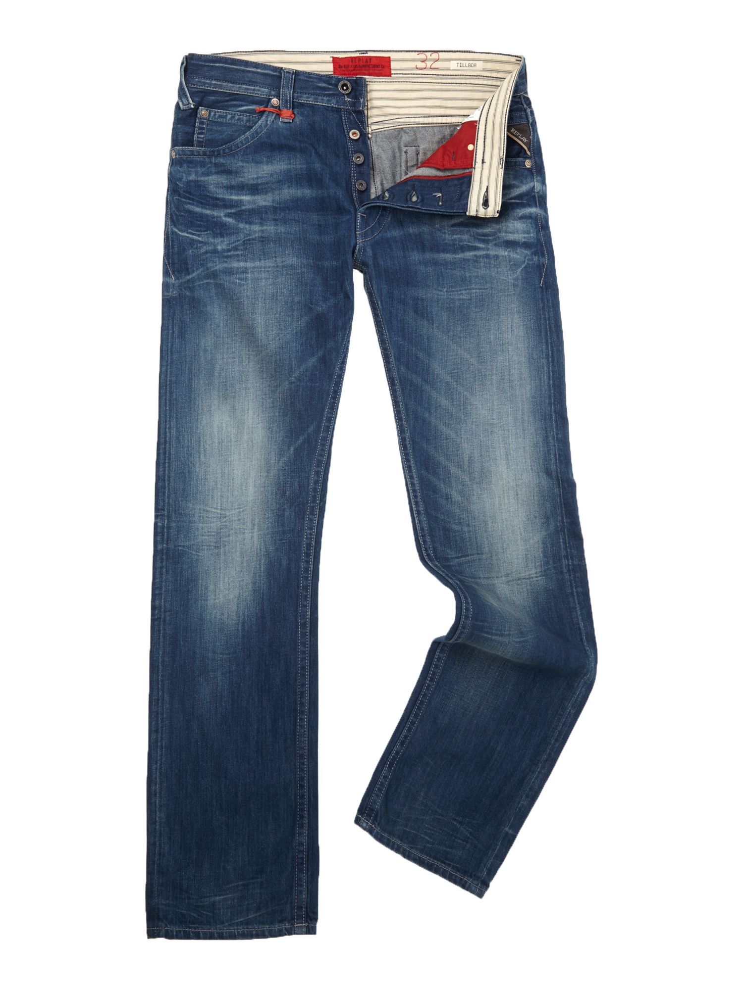 Tillbor soccer fit denim jeans