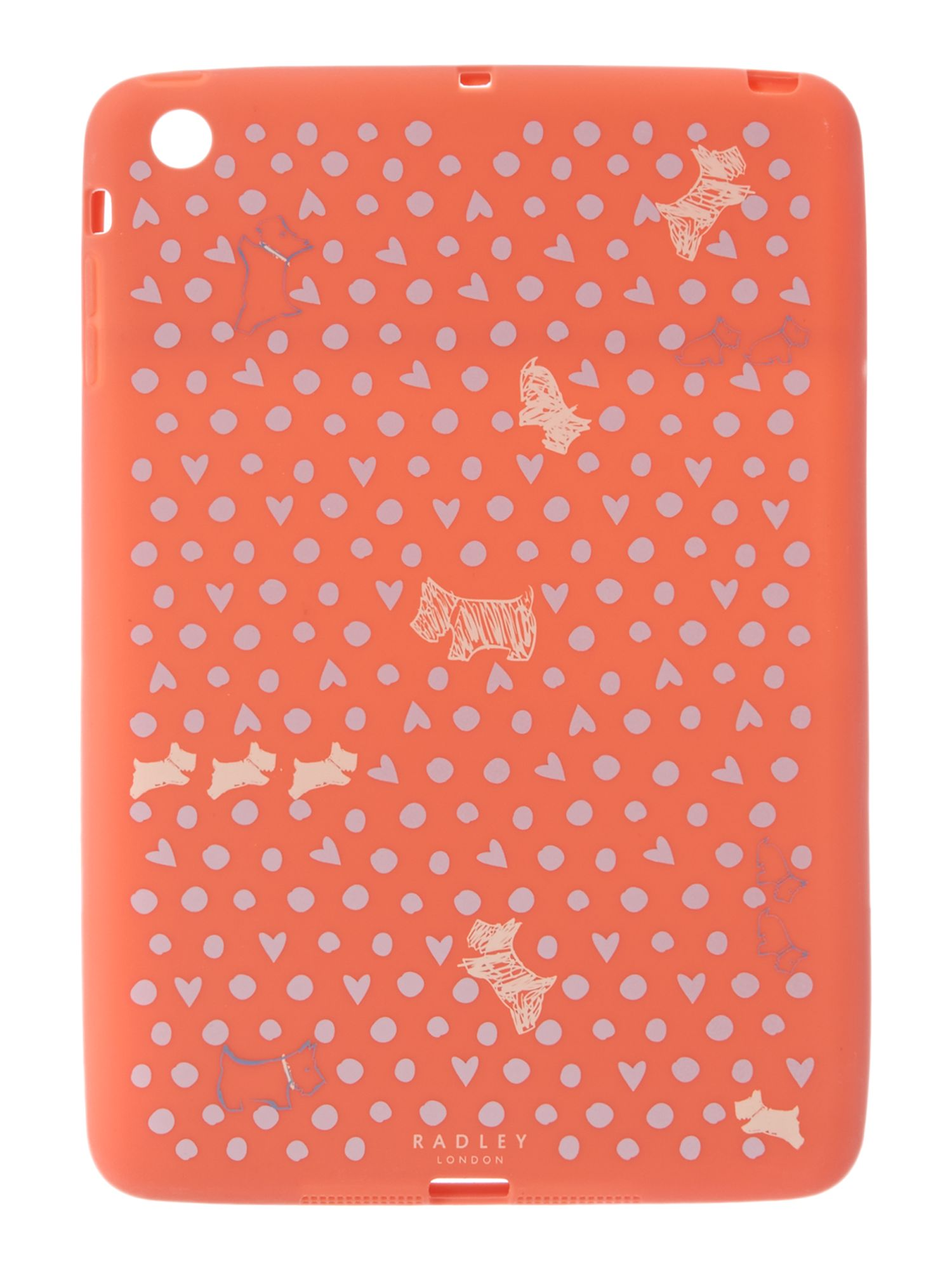 Hibbert coral ipad cover
