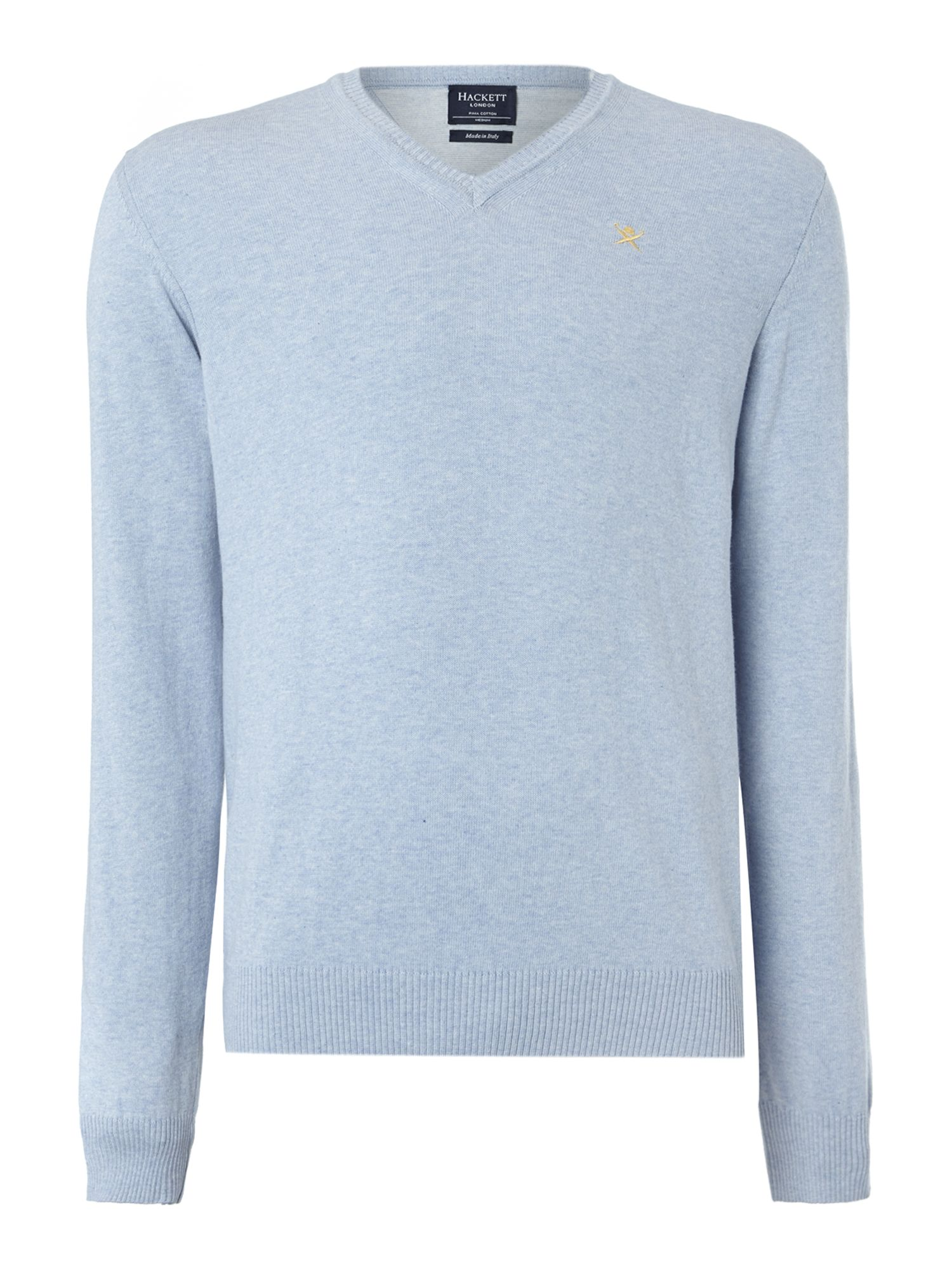 V neck pima cotton jumper