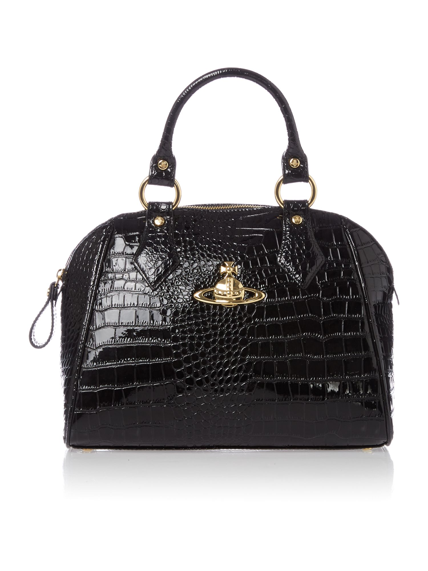 New Chancery black medium dome bag