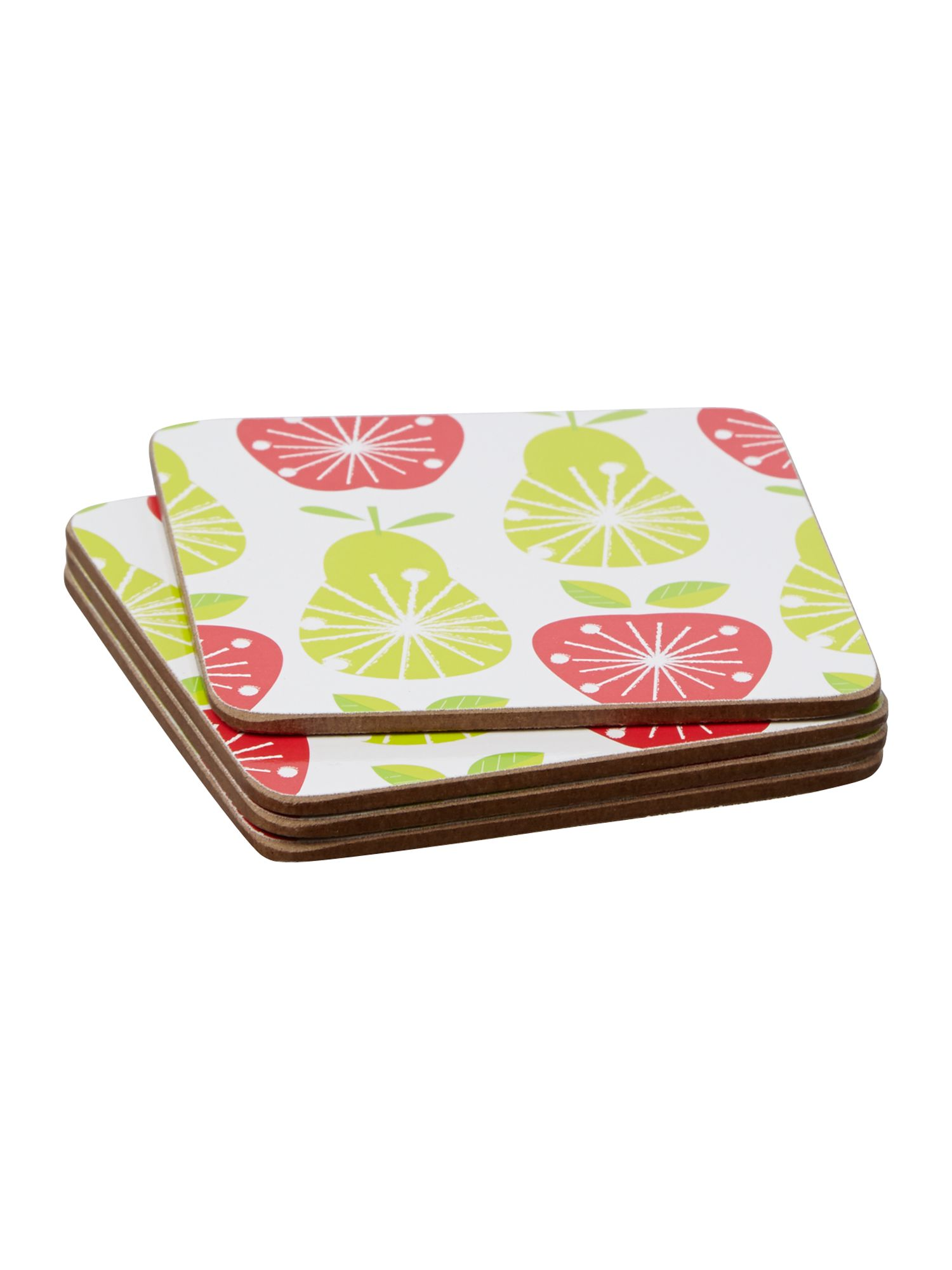 Fruit Salad Coasters set of 4