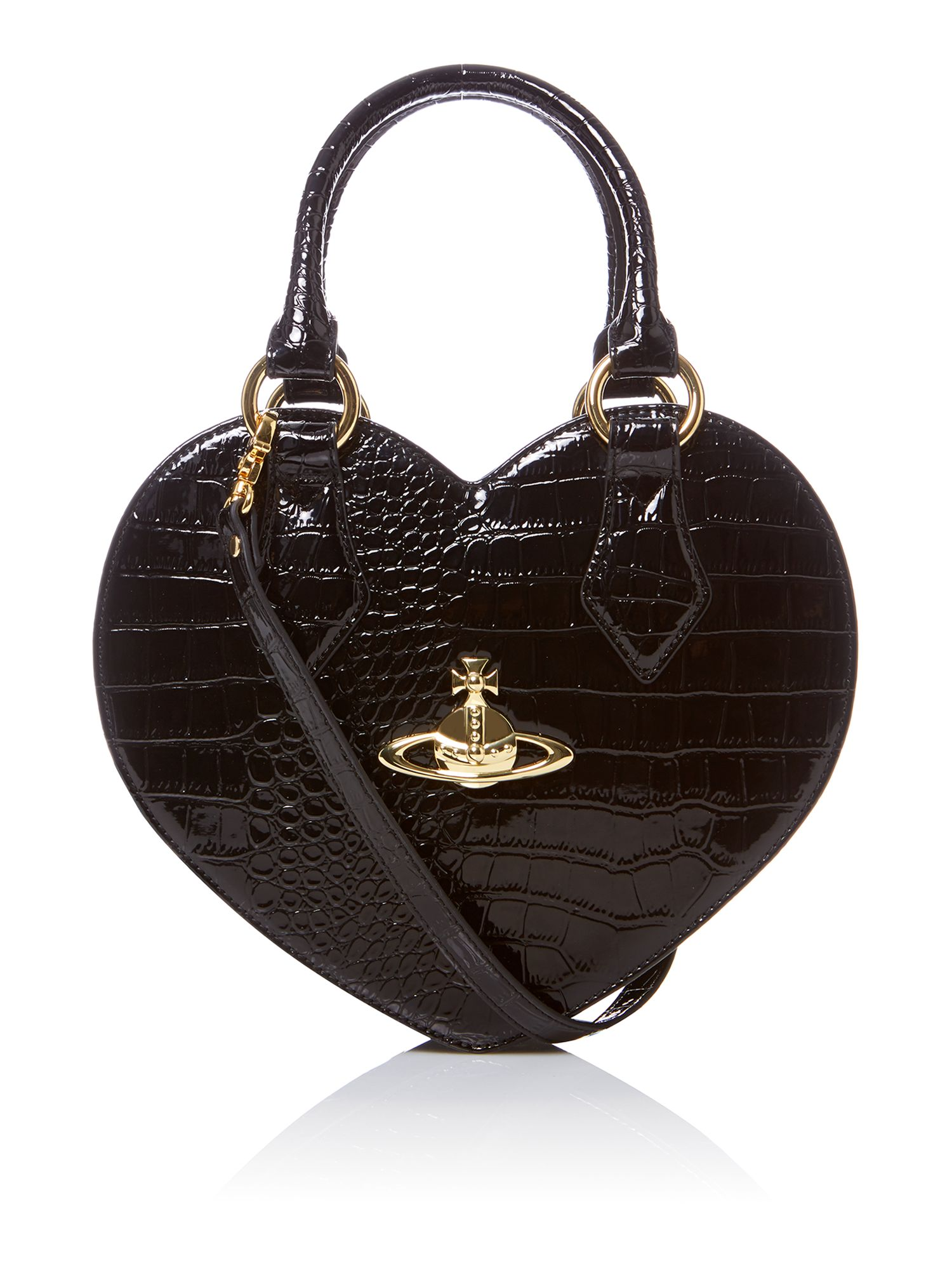 New Chancery black heart tote bag