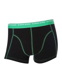 3 pack contrast stitch underwear trunk