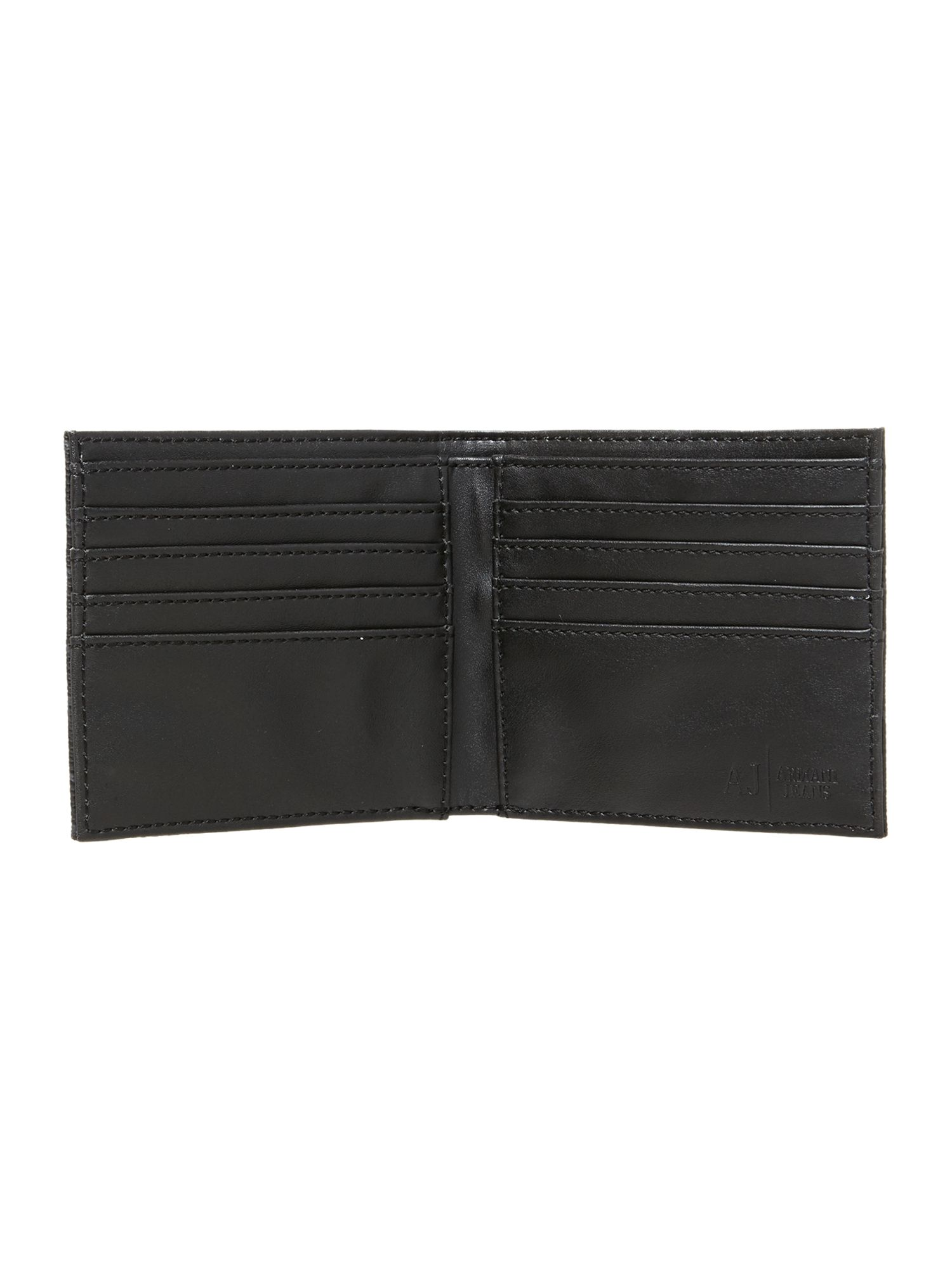 All over logo billfold wallet