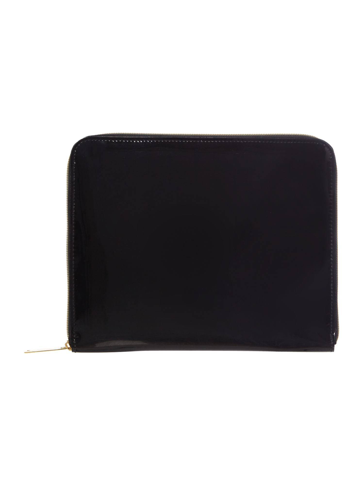 Large black iPad case