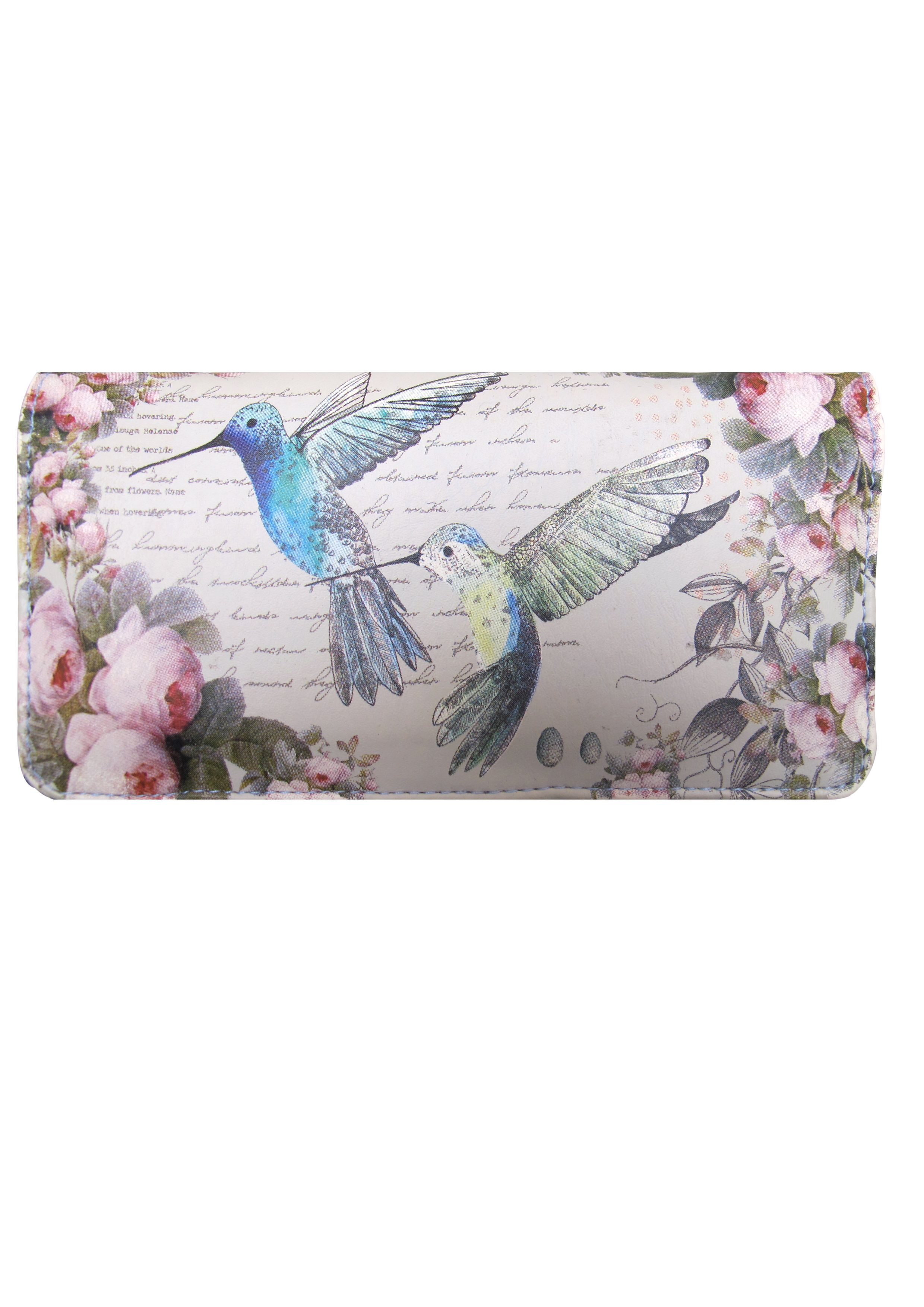 Avairy multi-coloured large flap over purse