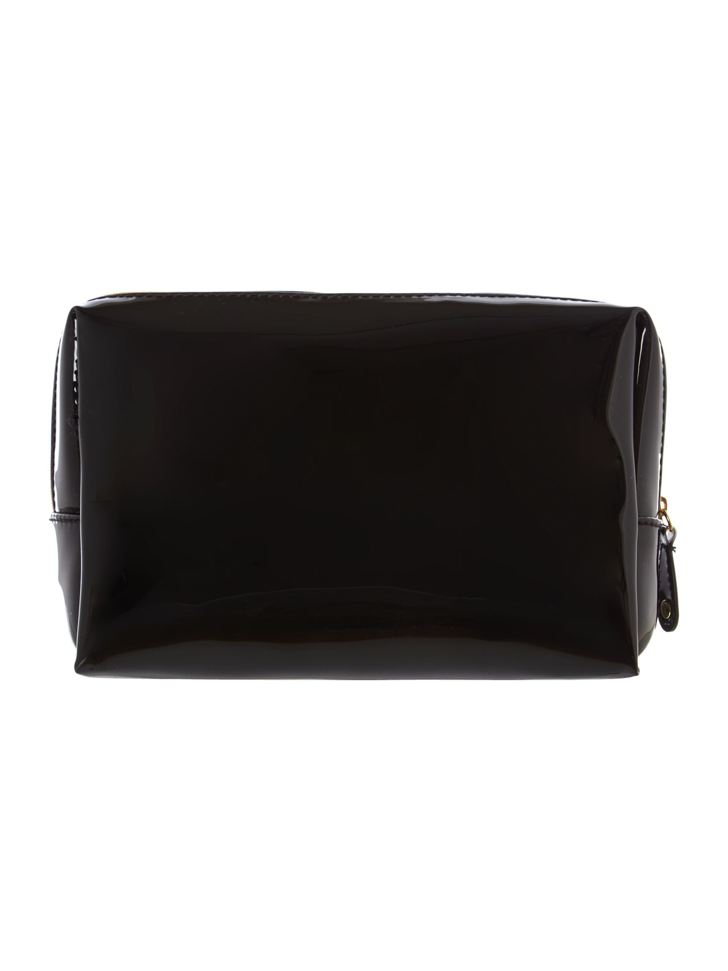 Large black cosmetics bag