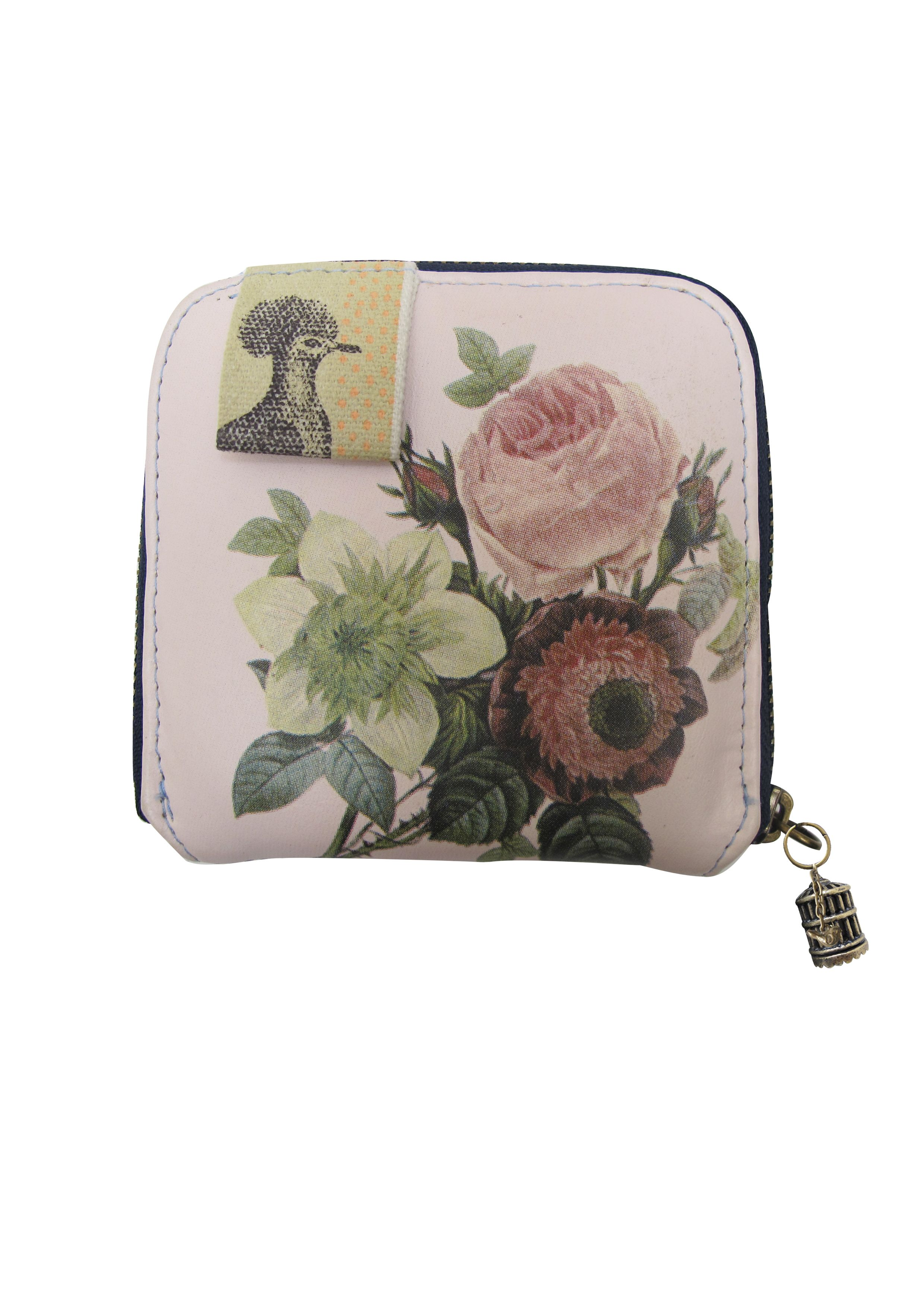 Avairy multi-coloured small zip around purse