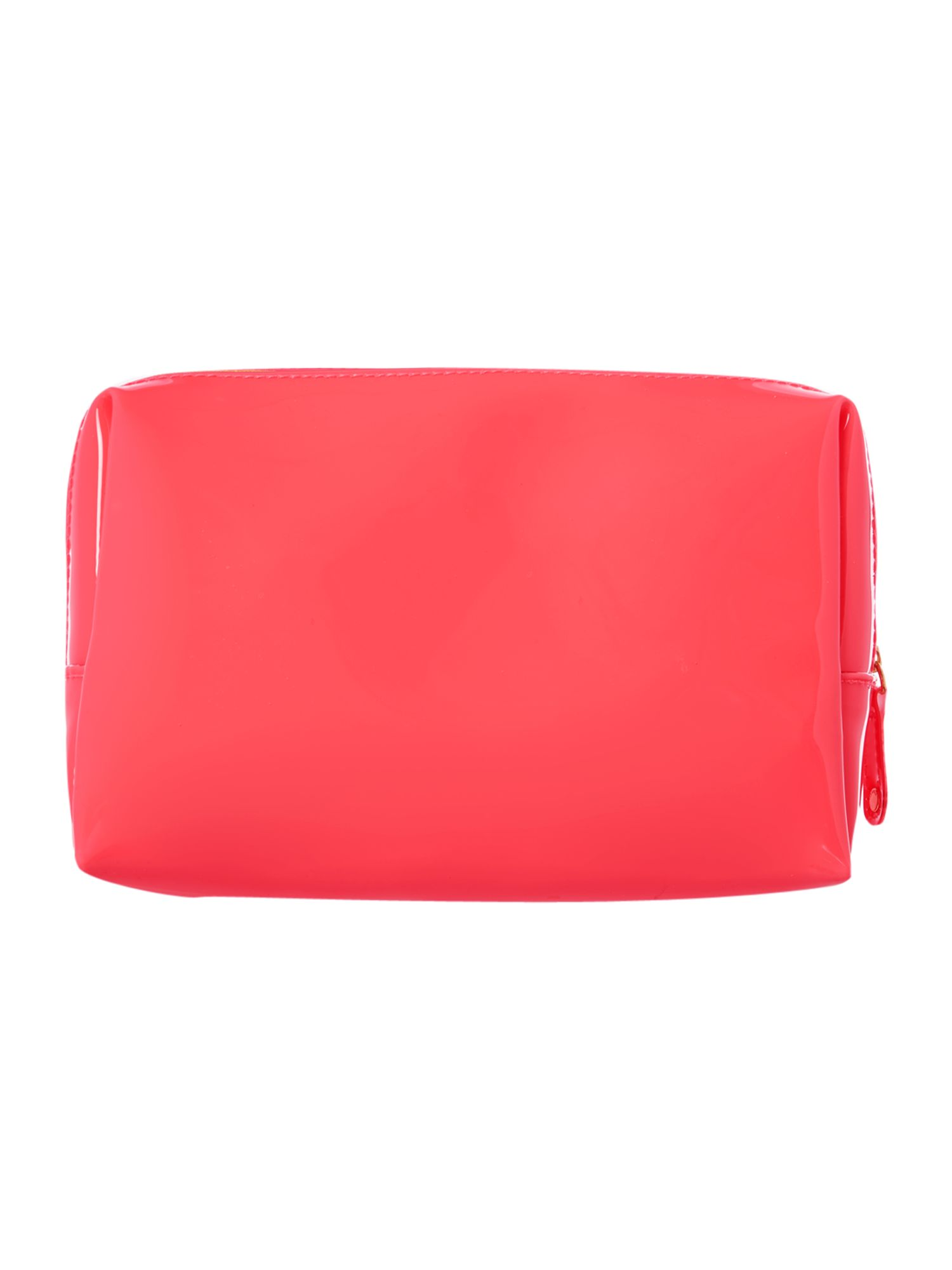 Large pink cosmetics bag