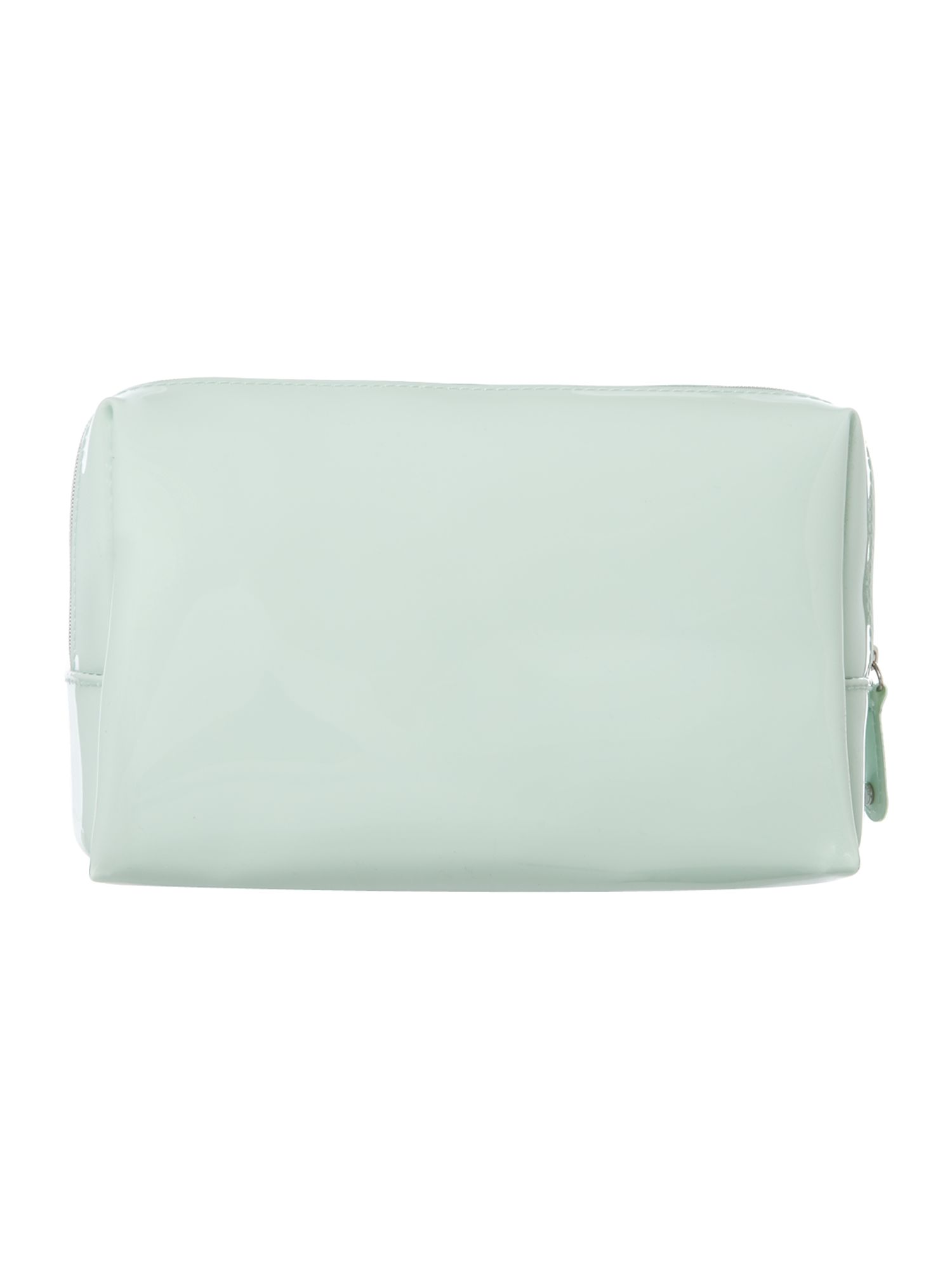 Large green cosmetics bag