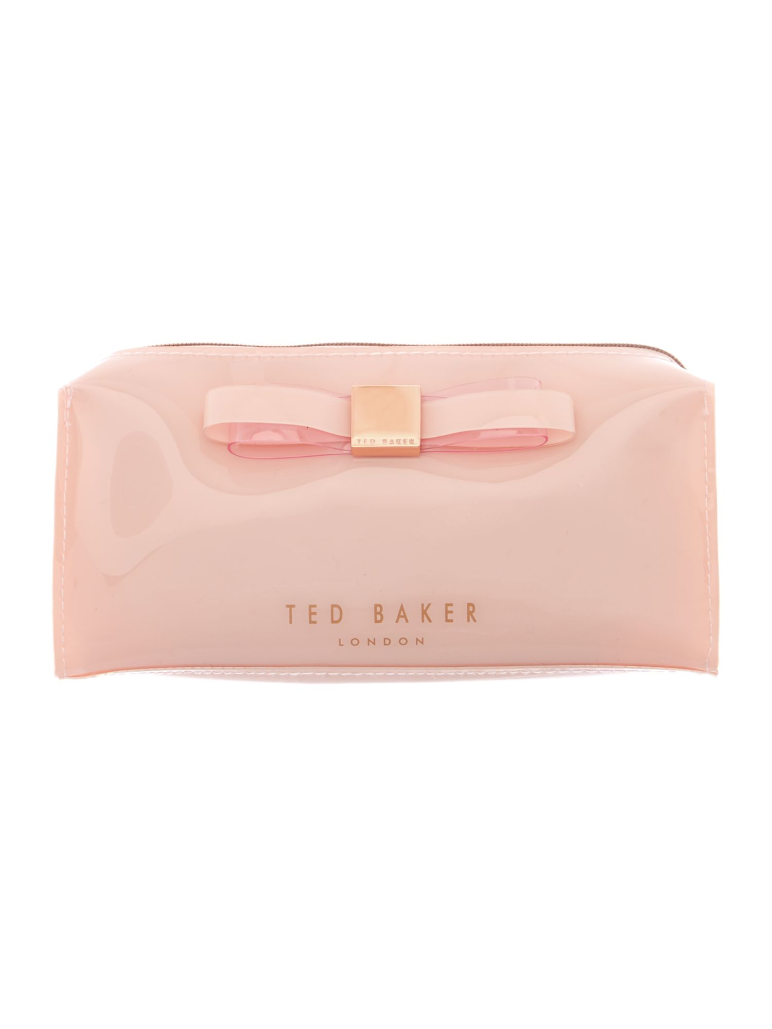 Medium pink cosmetic case