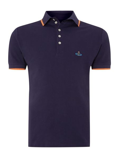 Vivienne Westwood Tipped collar and cuff polo shirt