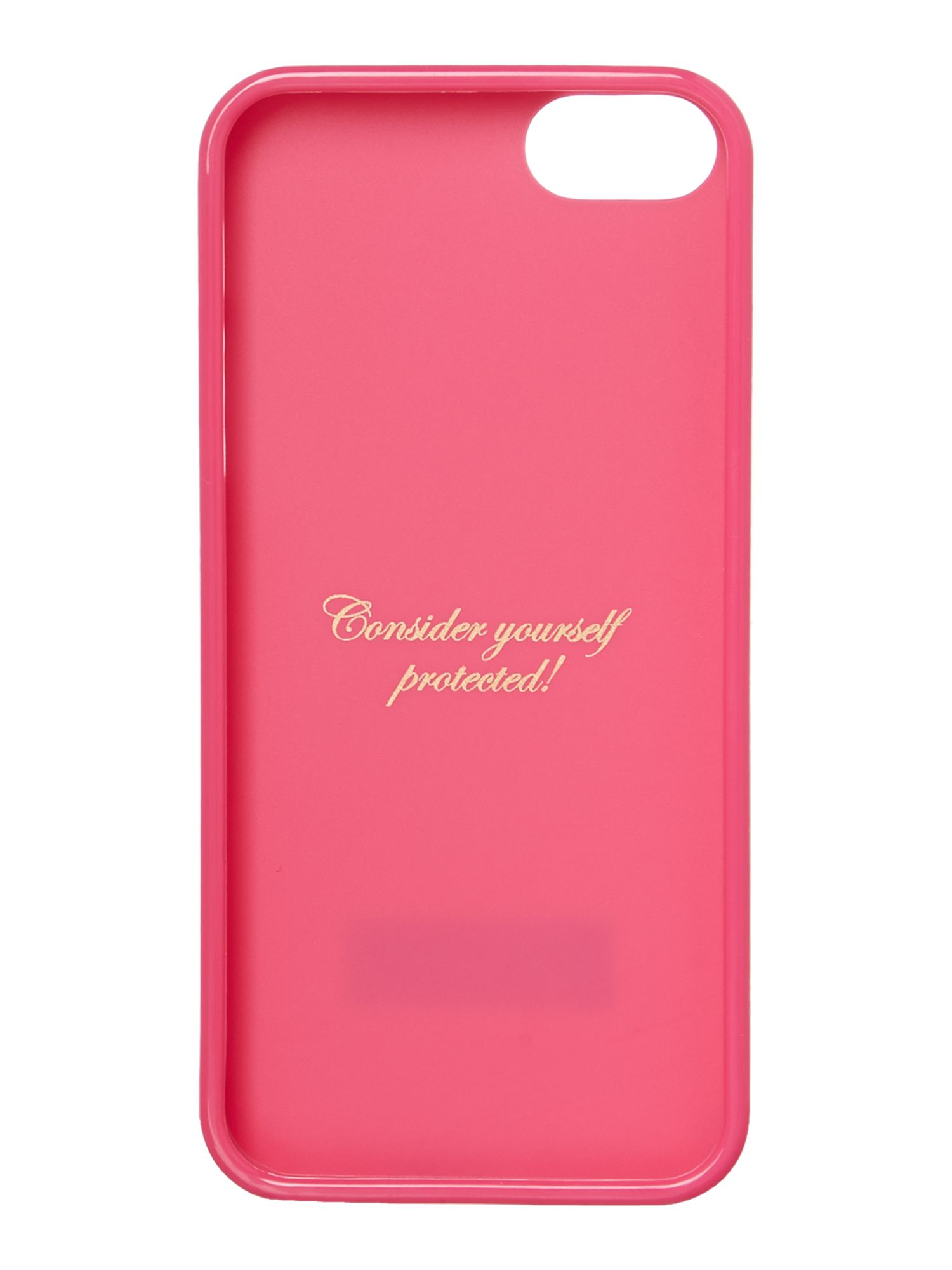 Jelly pink iPhone 5 case