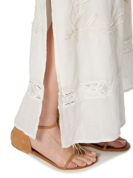 Linea Weekend Embroidered maxi dress