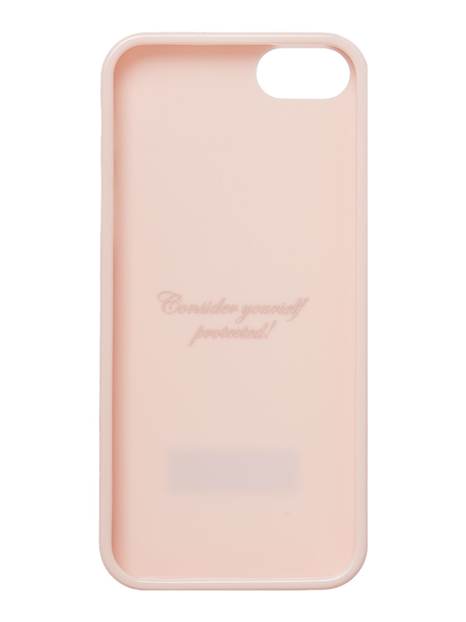 Jelly nude iPhone 5 case