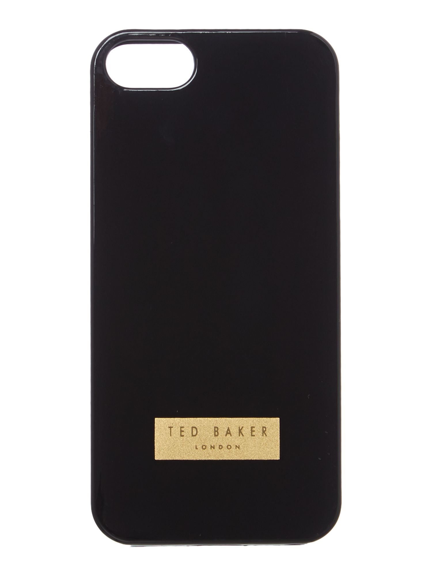 Jelly black iPhone 5 case