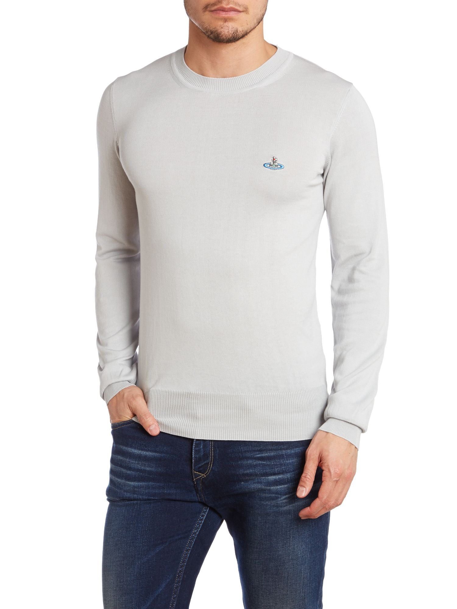 Crew neck basic knitwear