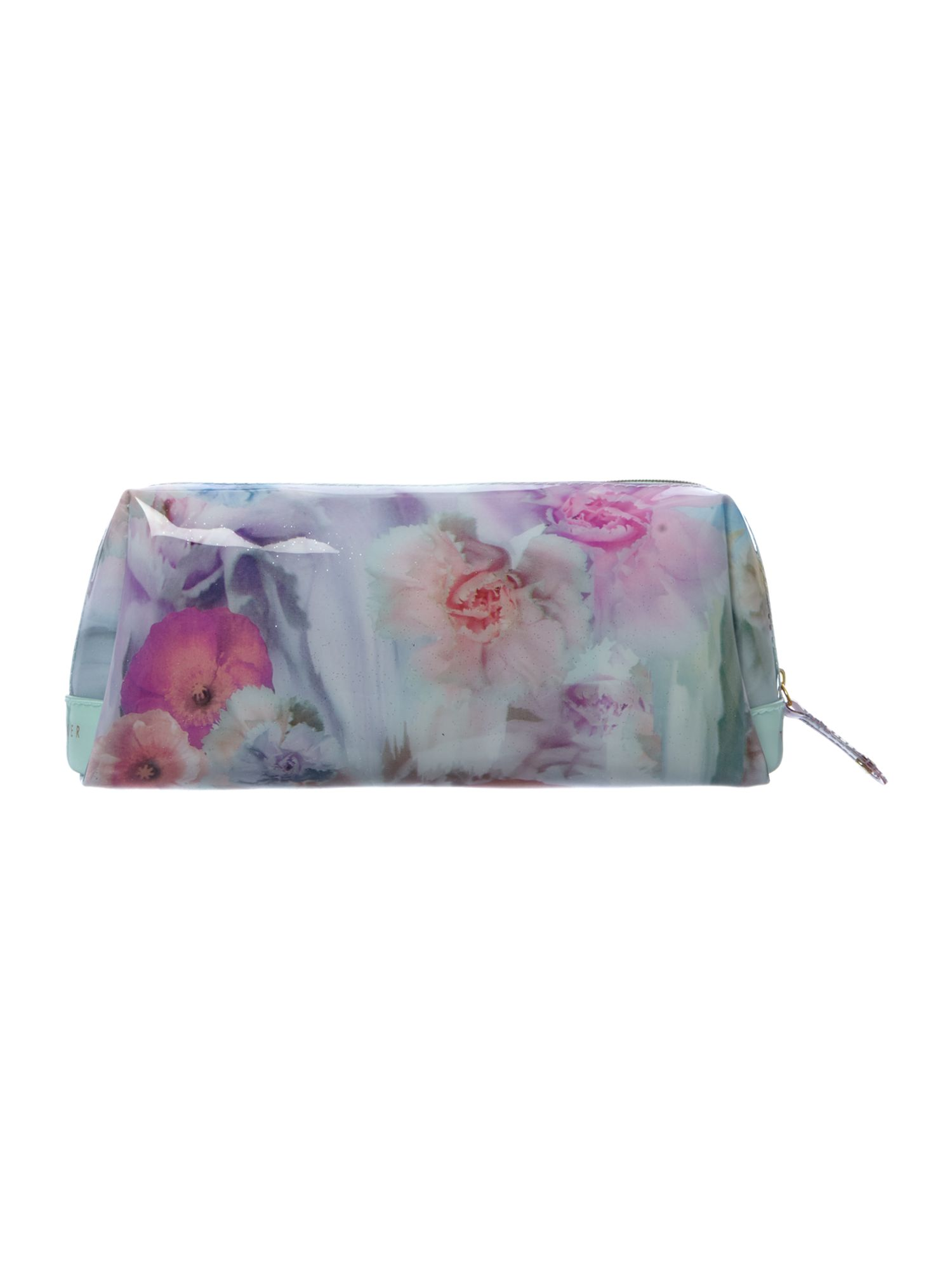 Large multi coloured wash bag