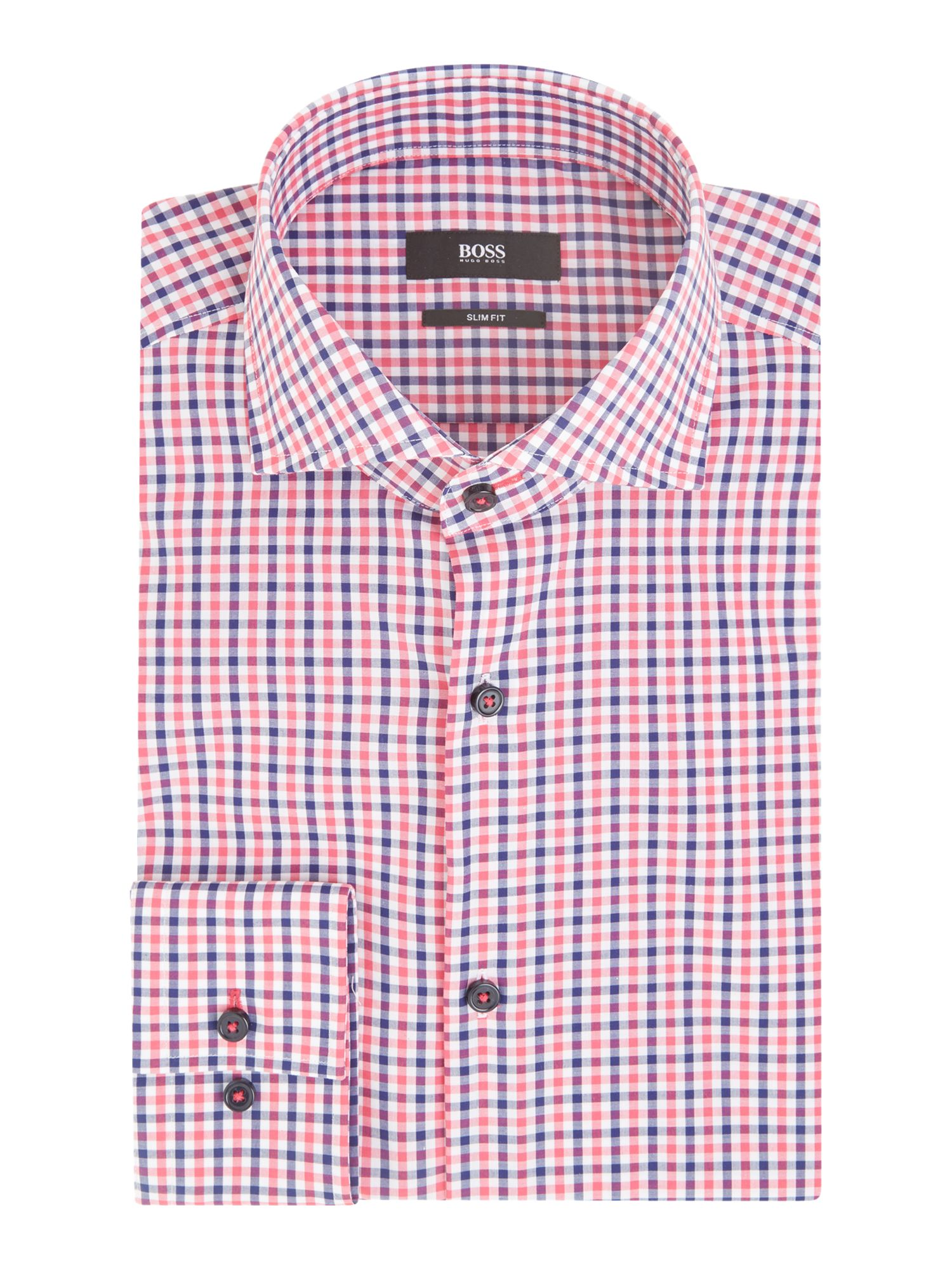Jaser slim fit multi gingham shirt