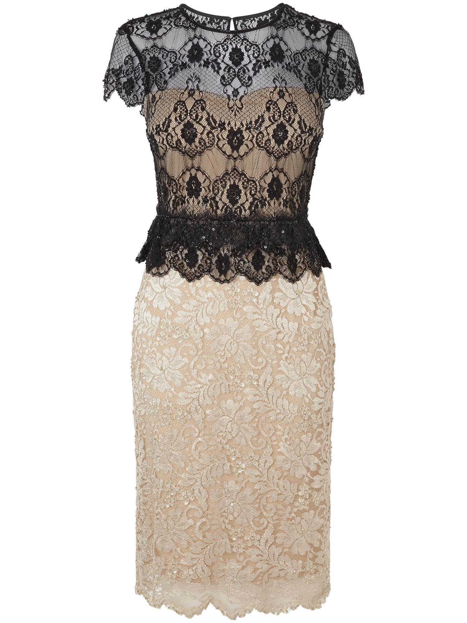 Annalina lace beaded dress