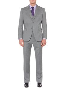 Howick Tailored Rock Melange Twill Notch Suit Jacket