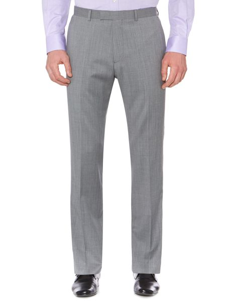 Rock melange twill suit trousers