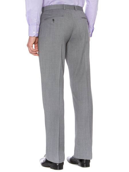 Howick Tailored Rock melange twill suit trousers