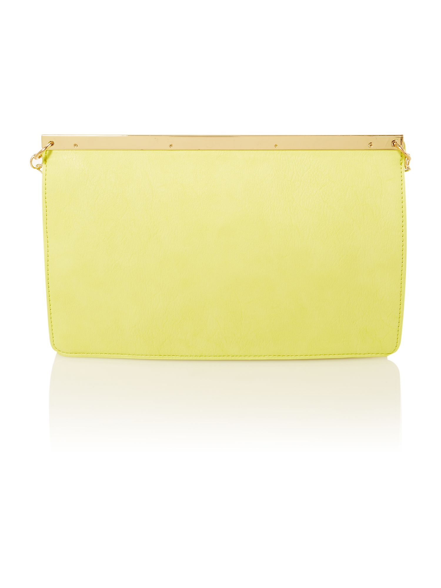 Green small clutch bag