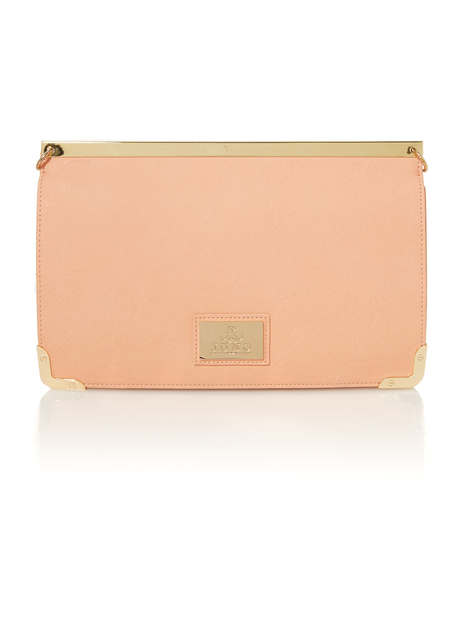 Coral small clutch bag