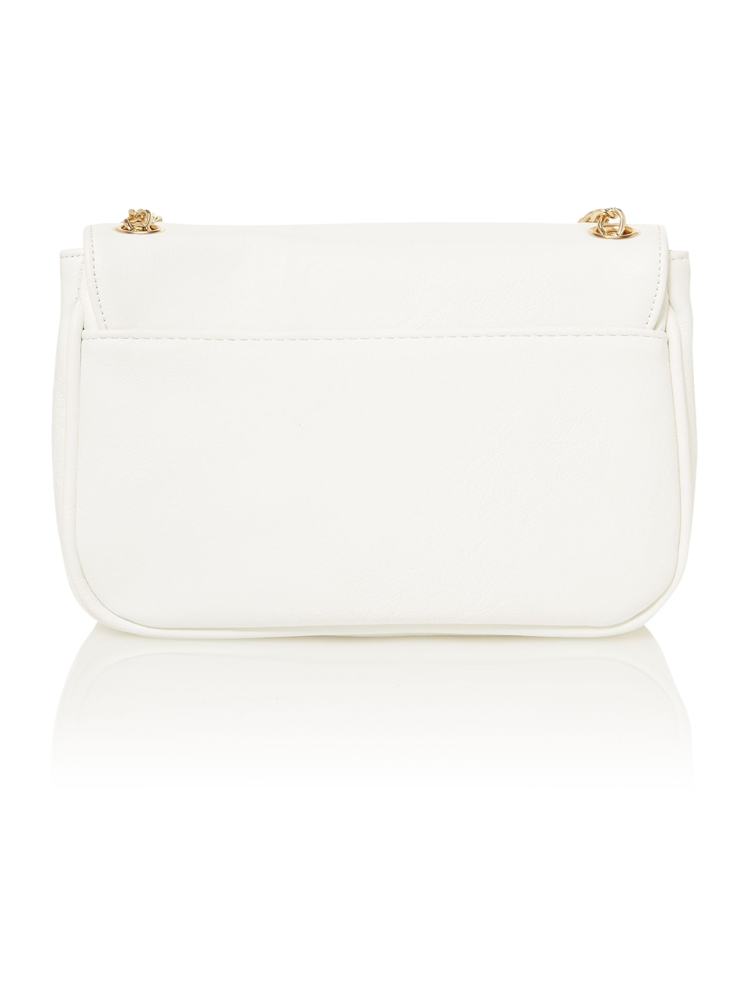 White small shoulder bag