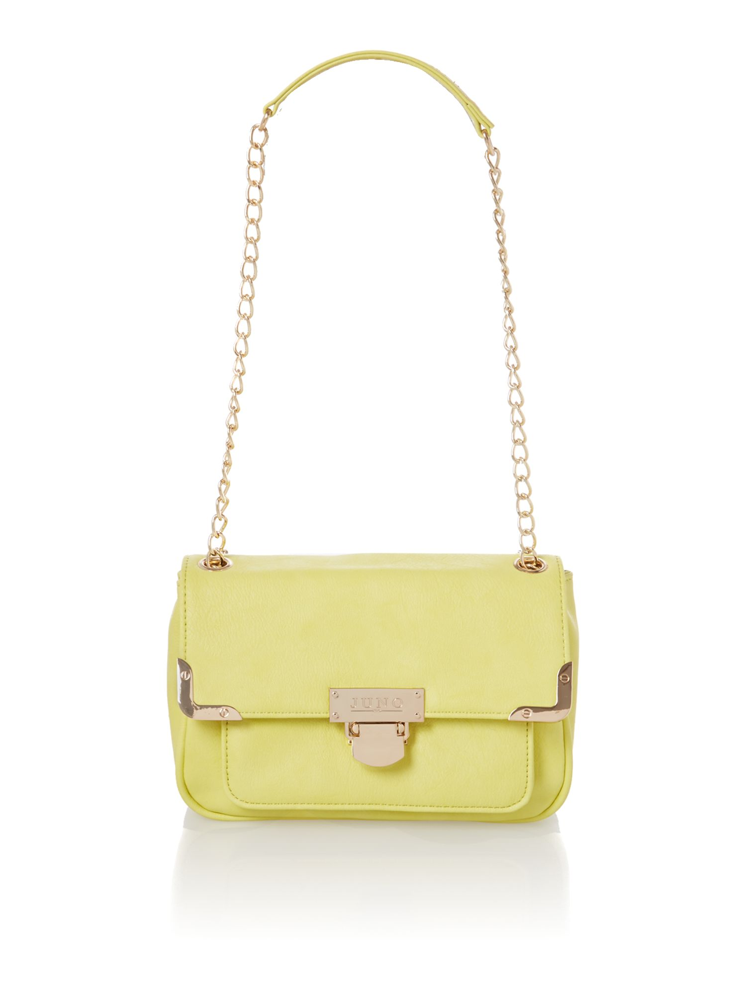 Green small shoulder bag