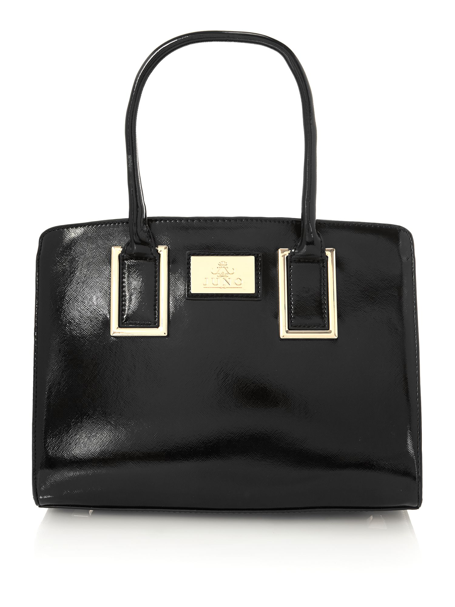 Black medium saffiano work bag