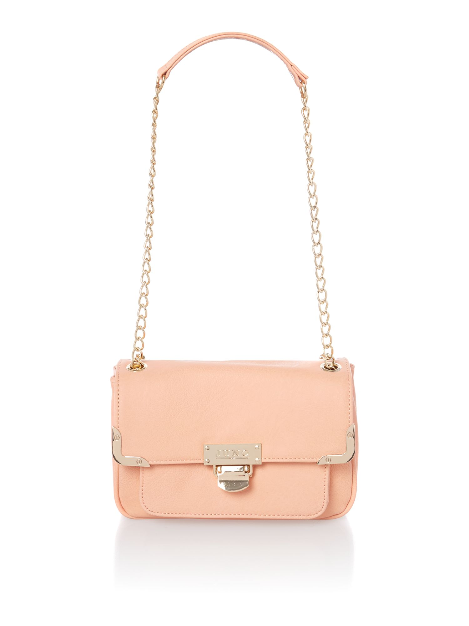 Coral small shoulder bag