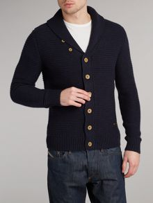 Button up cable knit cardigan
